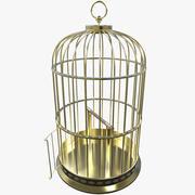 鳥かご 3d model