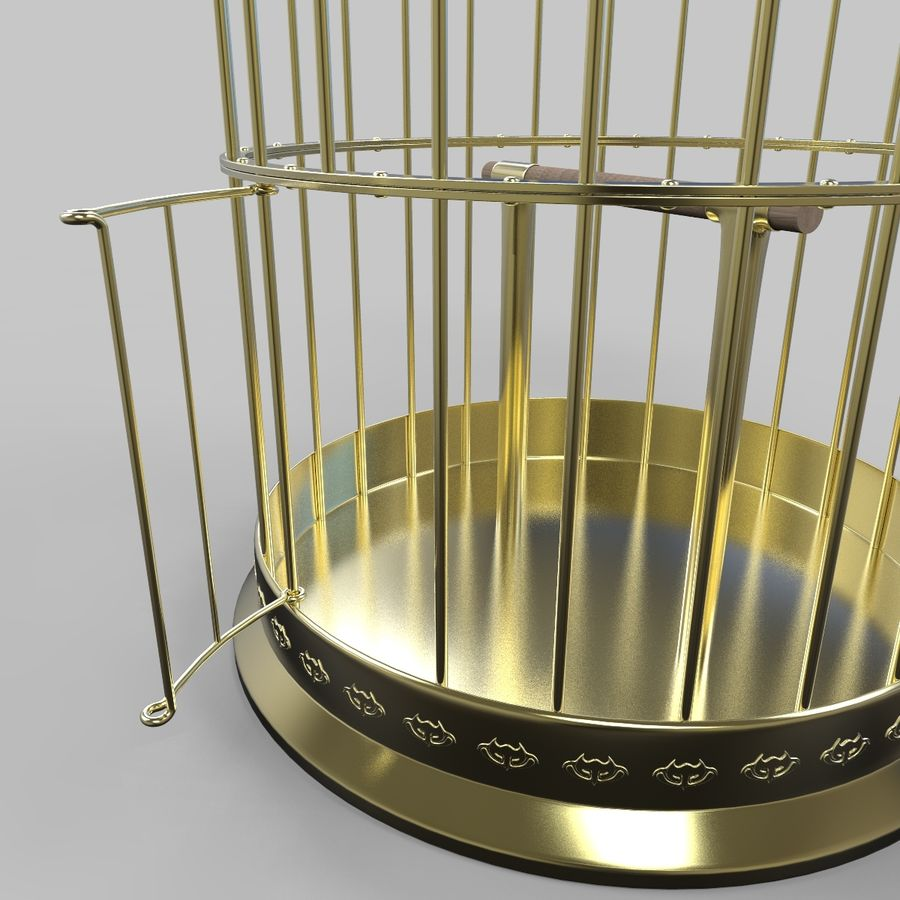 Vogelkooi royalty-free 3d model - Preview no. 14