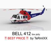 Bell 412 RESCUE 3d model