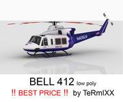 Bell 412 Sanitäterluft 3d model
