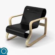 Alvar Aalto 41 Loungestol 3d model
