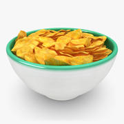 Cereal modelo 3d
