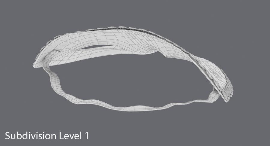 フェスティバルマスクブラック royalty-free 3d model - Preview no. 14