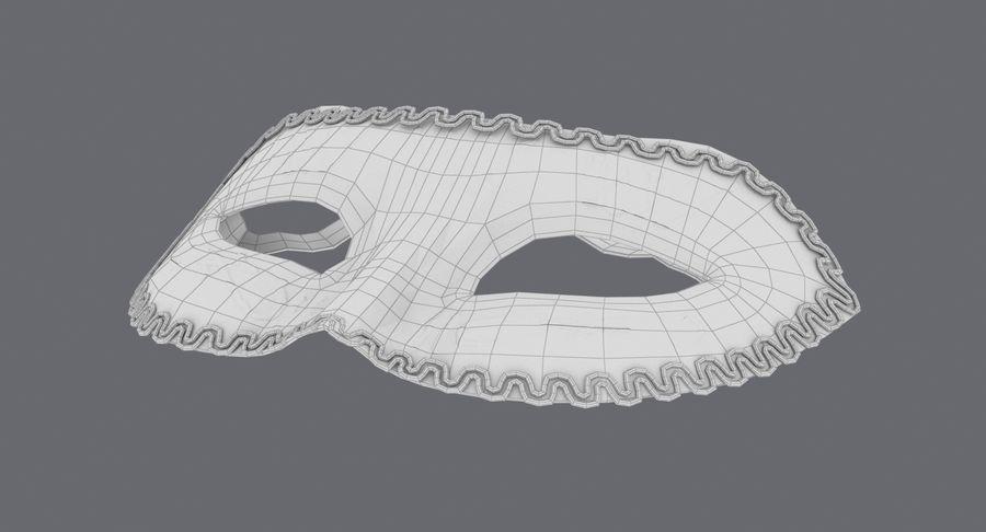 フェスティバルマスクブラック royalty-free 3d model - Preview no. 15
