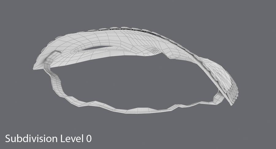 フェスティバルマスクブラック royalty-free 3d model - Preview no. 13