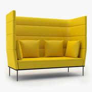 元素|长椅 3d model