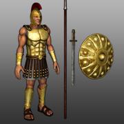 Achille 3d model