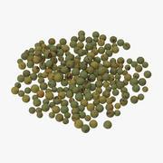 Green Peppercorns 3d model