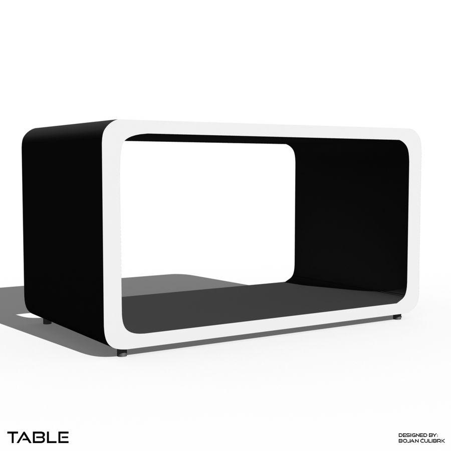 立方体表 royalty-free 3d model - Preview no. 1