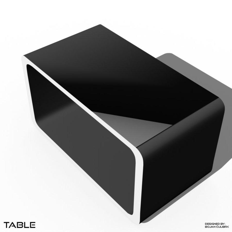 立方体表 royalty-free 3d model - Preview no. 2