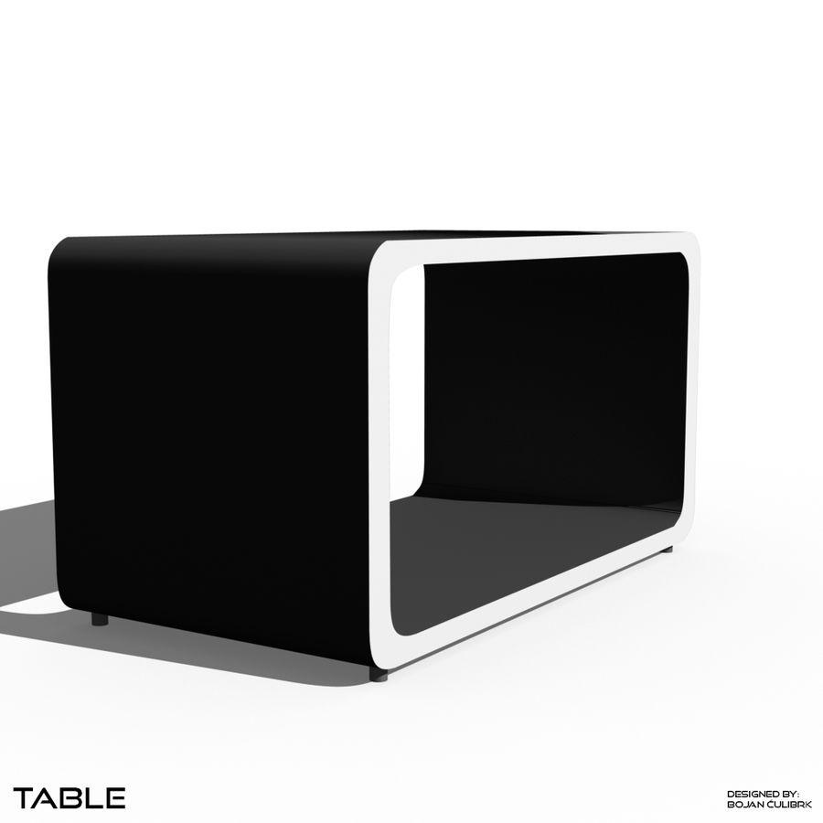 立方体表 royalty-free 3d model - Preview no. 6