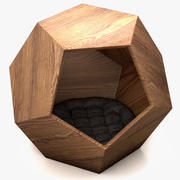 Filhote de cachorro e Kit Pet Cave 3d model