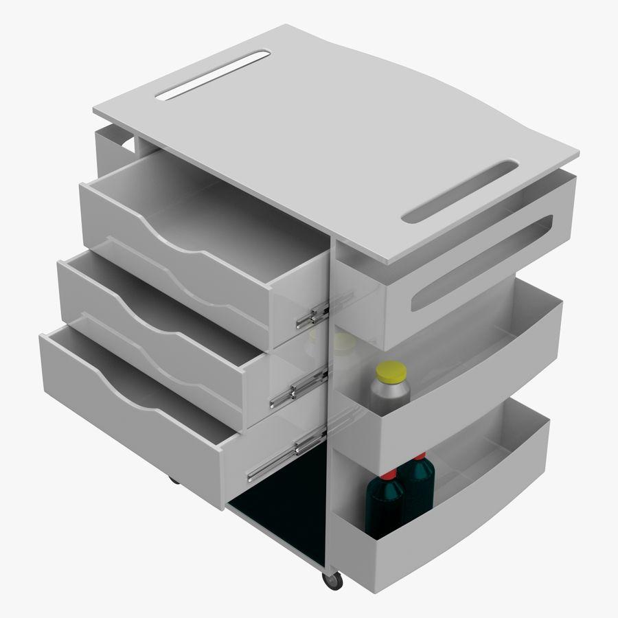 Medizinischer Wagen royalty-free 3d model - Preview no. 1