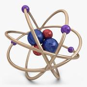 原子1 3d model