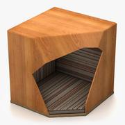 Modern Dog House 3d model
