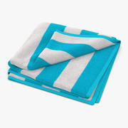 Beach Towel 2 3D Model 3d model