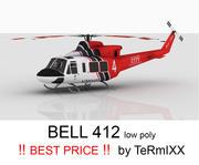 Bell 412 LA DEPT 3d model