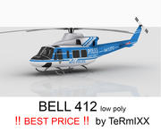 Bell 412 NYPD 3d model