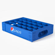 Plastic Pepsi Crate 3d model