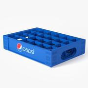 プラスチックペプシクレート 3d model