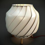 Лампа луч света 3d model