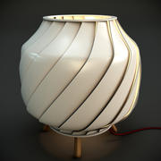 Ray Light Lamp 3d model