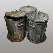 垃圾箱 3d model