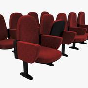 Кинотеатр Seat 3d model