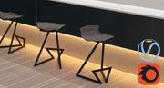 Krzesło Z. 3d model