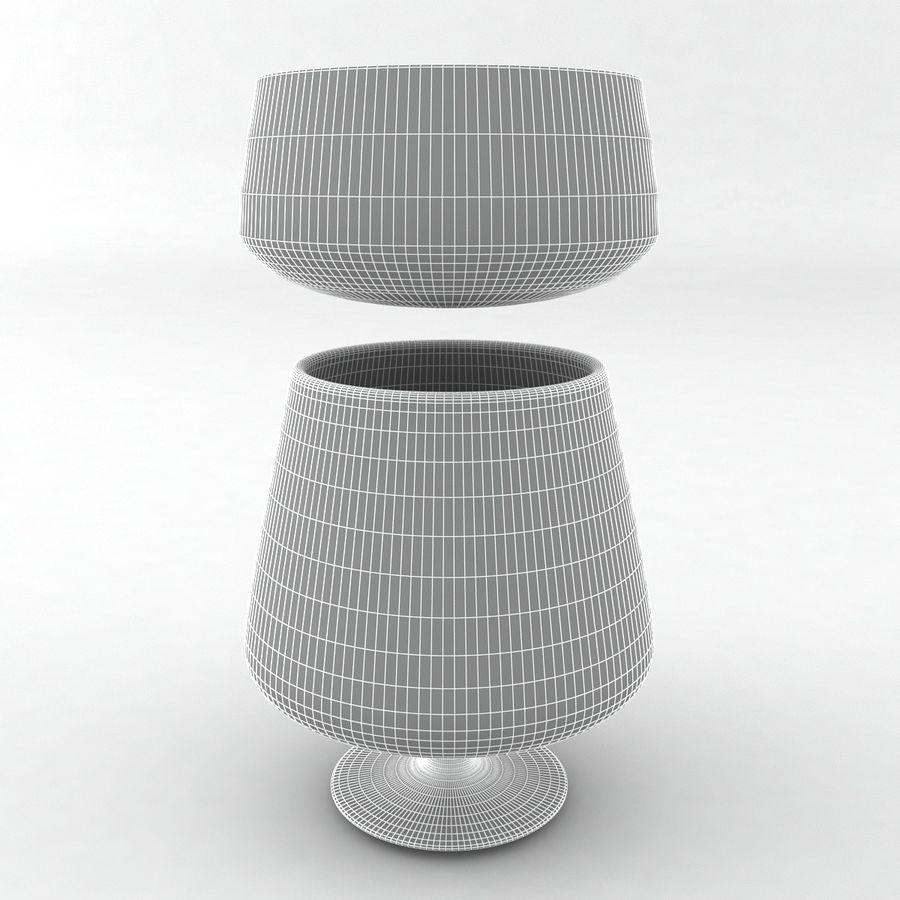 Collezione Bicchieri Bicchieri royalty-free 3d model - Preview no. 5