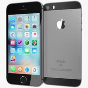 IPhone SE gris de l'espace 3d model