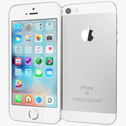 Apple iPhone SE Gümüş 3d model