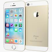 Apple iPhone SE Guld 3d model