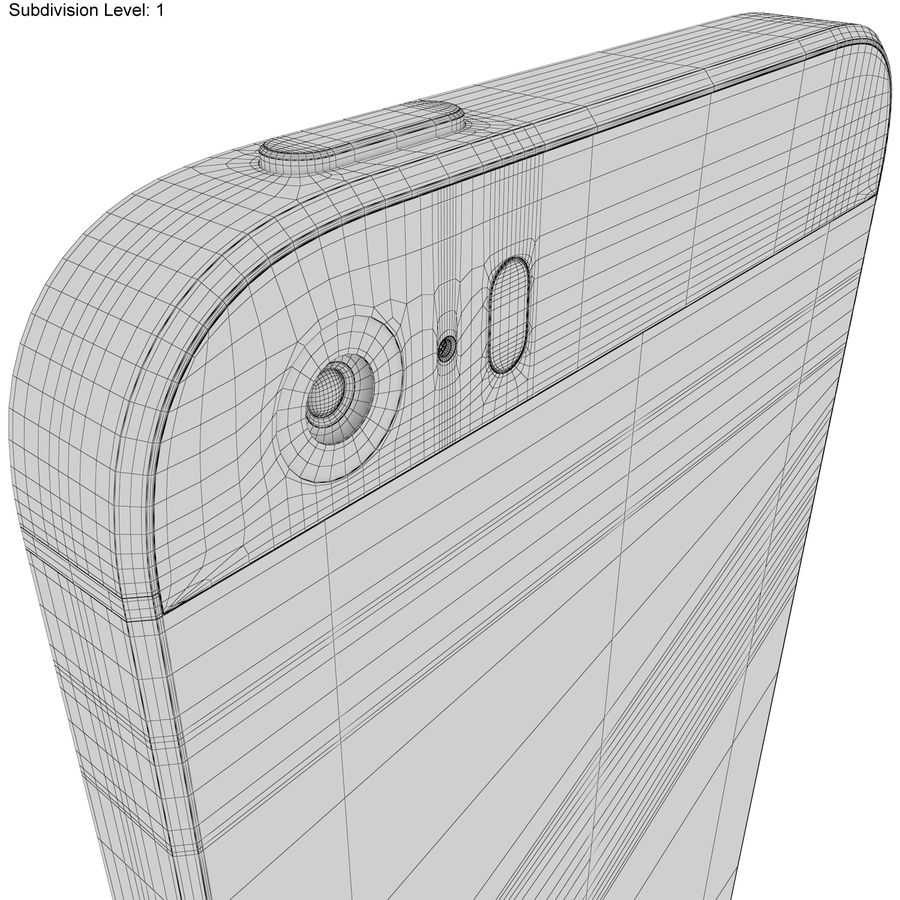 Apple iPhone SE Gül Altın royalty-free 3d model - Preview no. 22