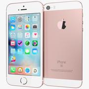 Apple iPhone SE Or Rose 3d model