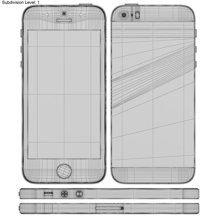 Apple iPhone SE Gül Altın royalty-free 3d model - Preview no. 20