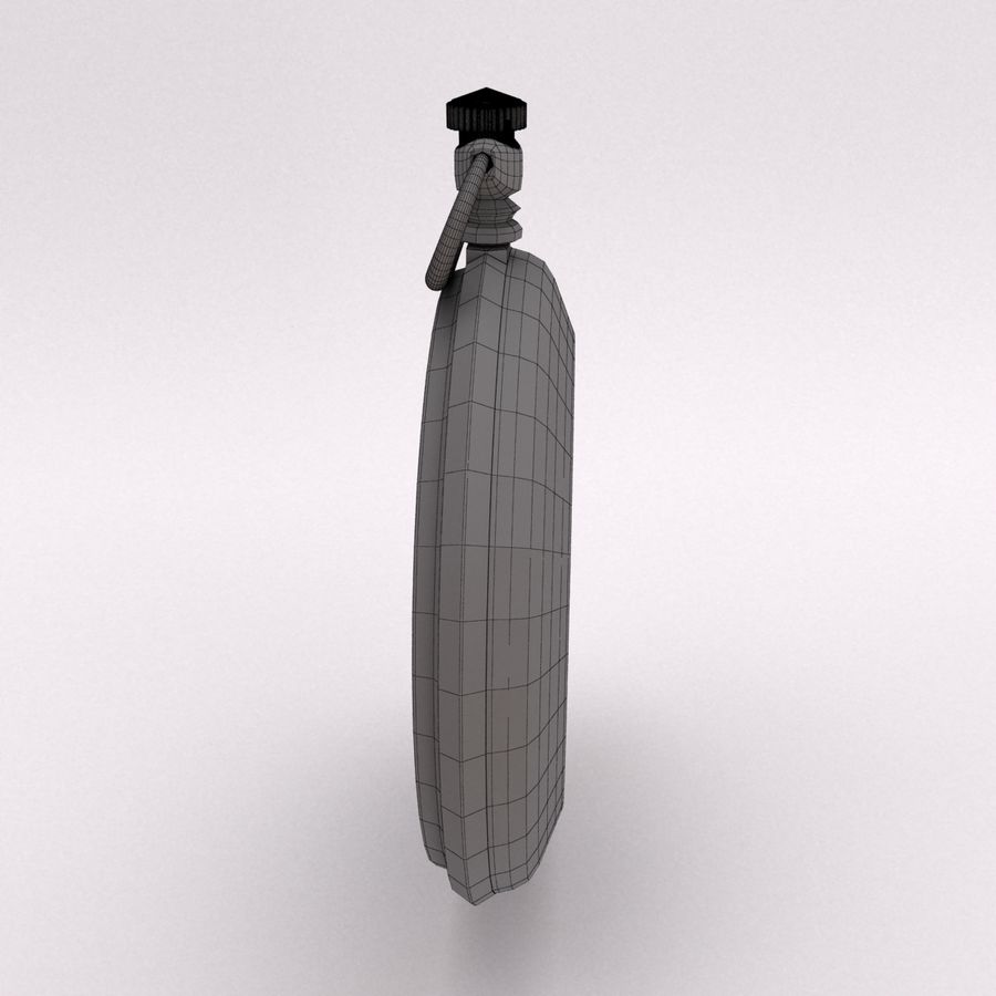 Pocket Watch royalty-free 3d model - Preview no. 10