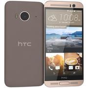 HTC One Me Gold Sepia modelo 3d