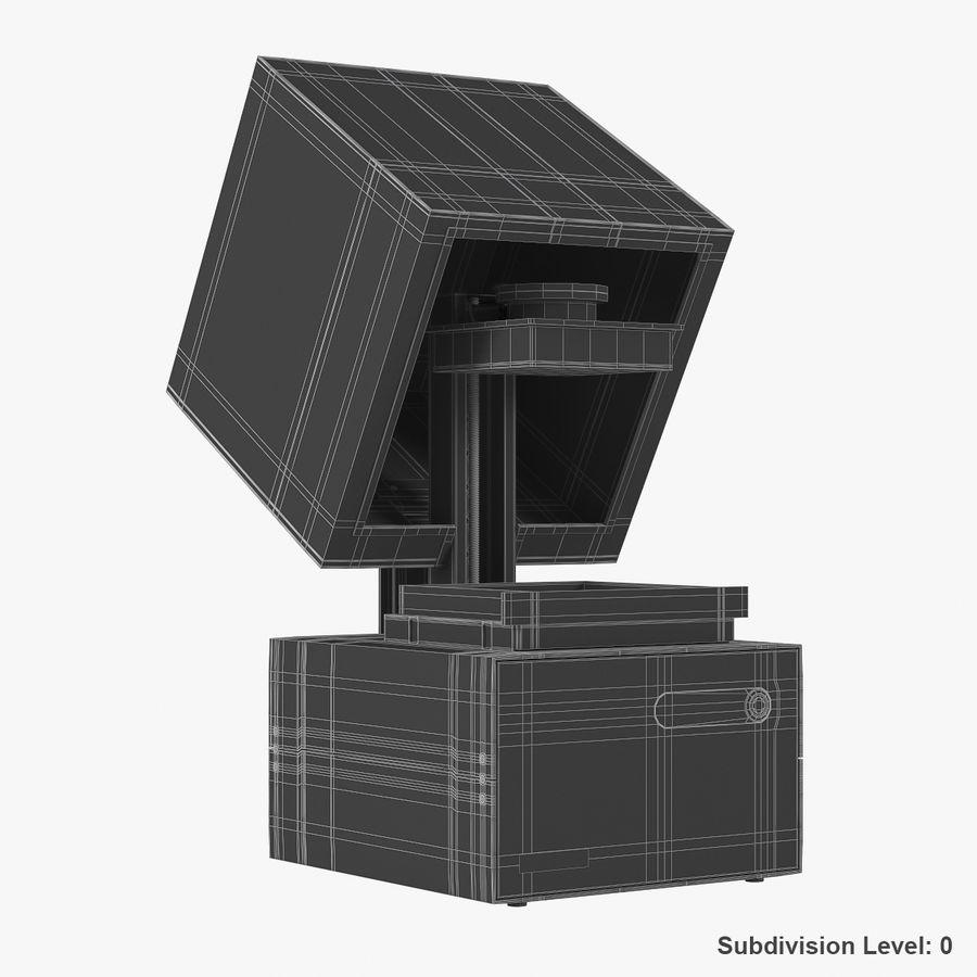 Formularz drukarki 3D 1 royalty-free 3d model - Preview no. 13
