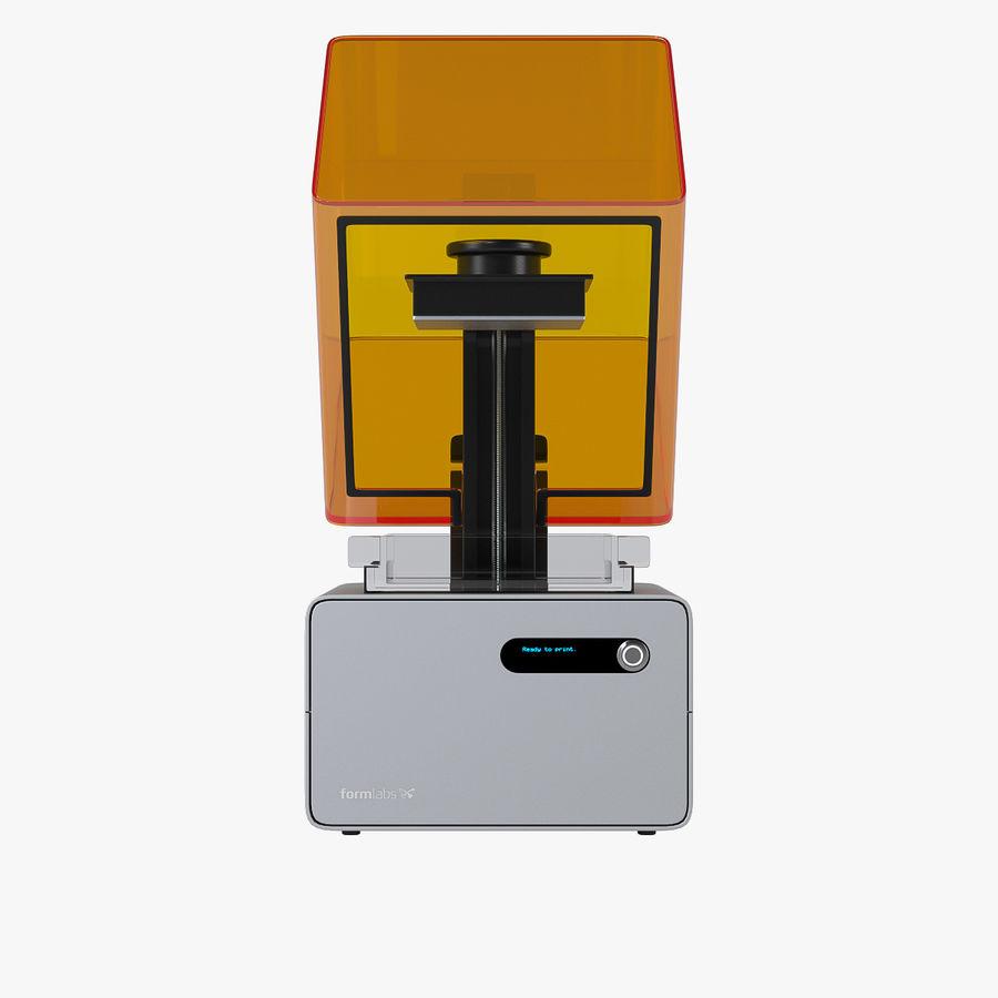 Formularz drukarki 3D 1 royalty-free 3d model - Preview no. 8