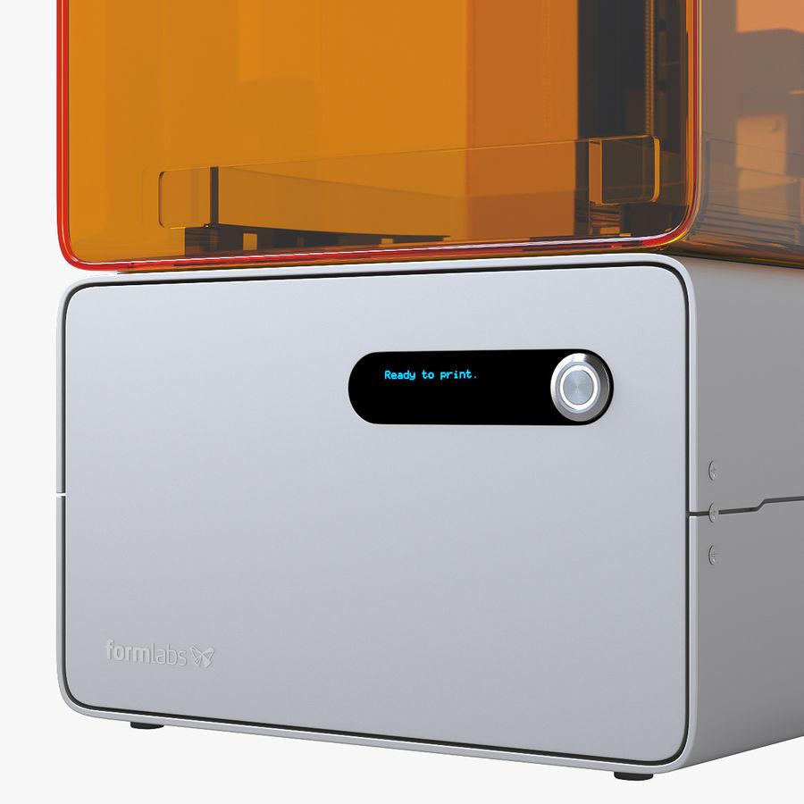 Formularz drukarki 3D 1 royalty-free 3d model - Preview no. 5