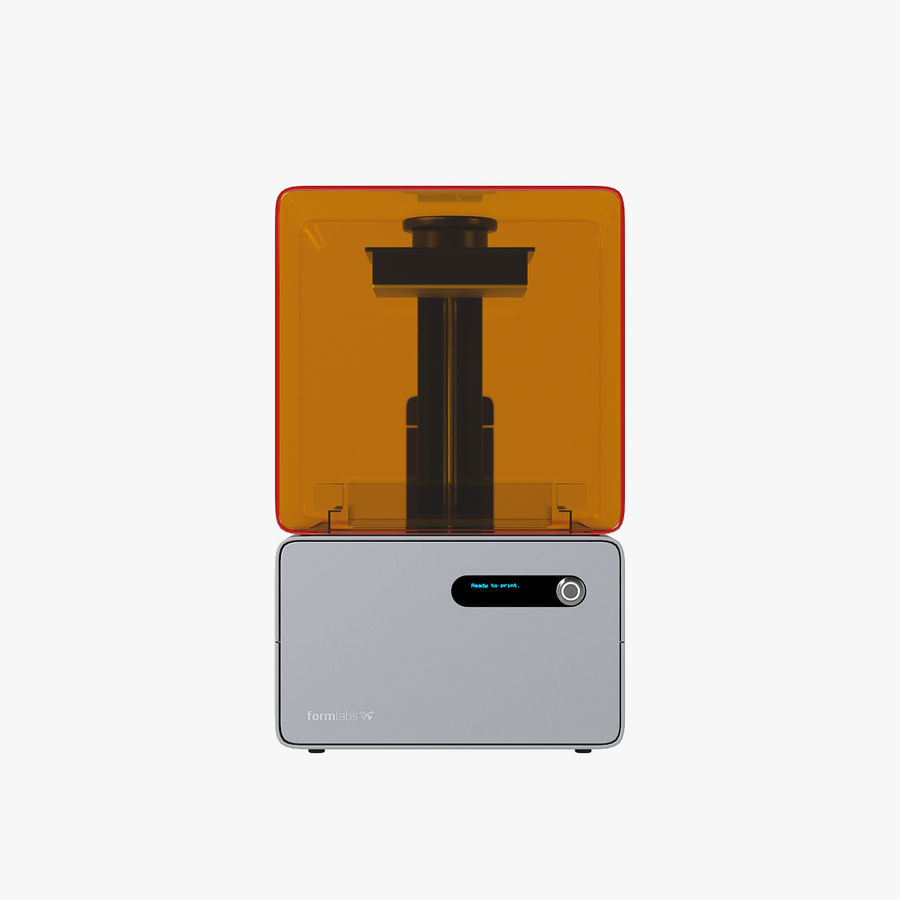 Formularz drukarki 3D 1 royalty-free 3d model - Preview no. 9