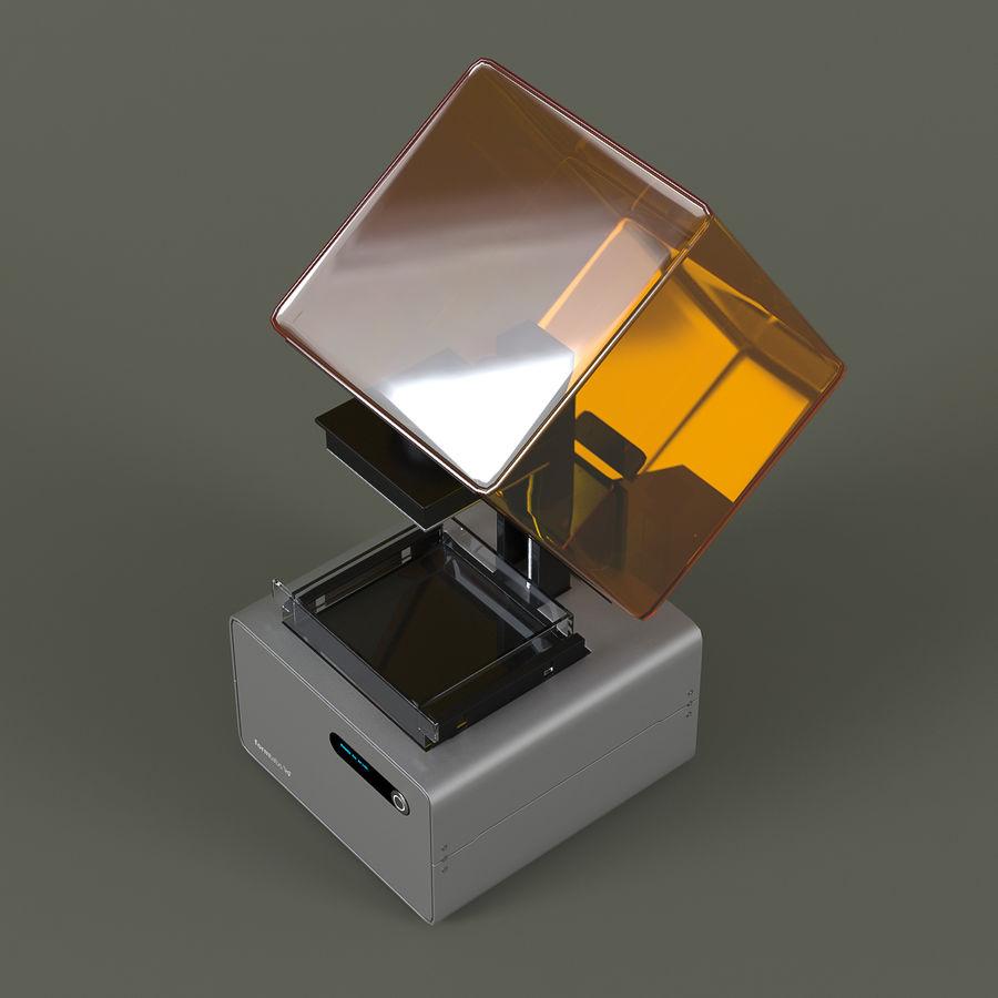 Formularz drukarki 3D 1 royalty-free 3d model - Preview no. 3