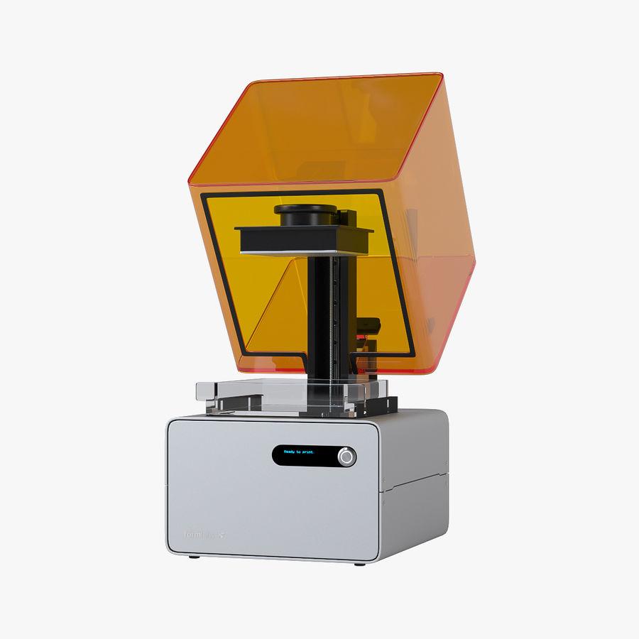 Formularz drukarki 3D 1 royalty-free 3d model - Preview no. 7