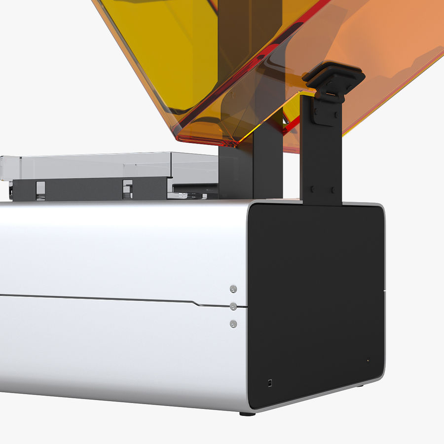 Formularz drukarki 3D 1 royalty-free 3d model - Preview no. 6