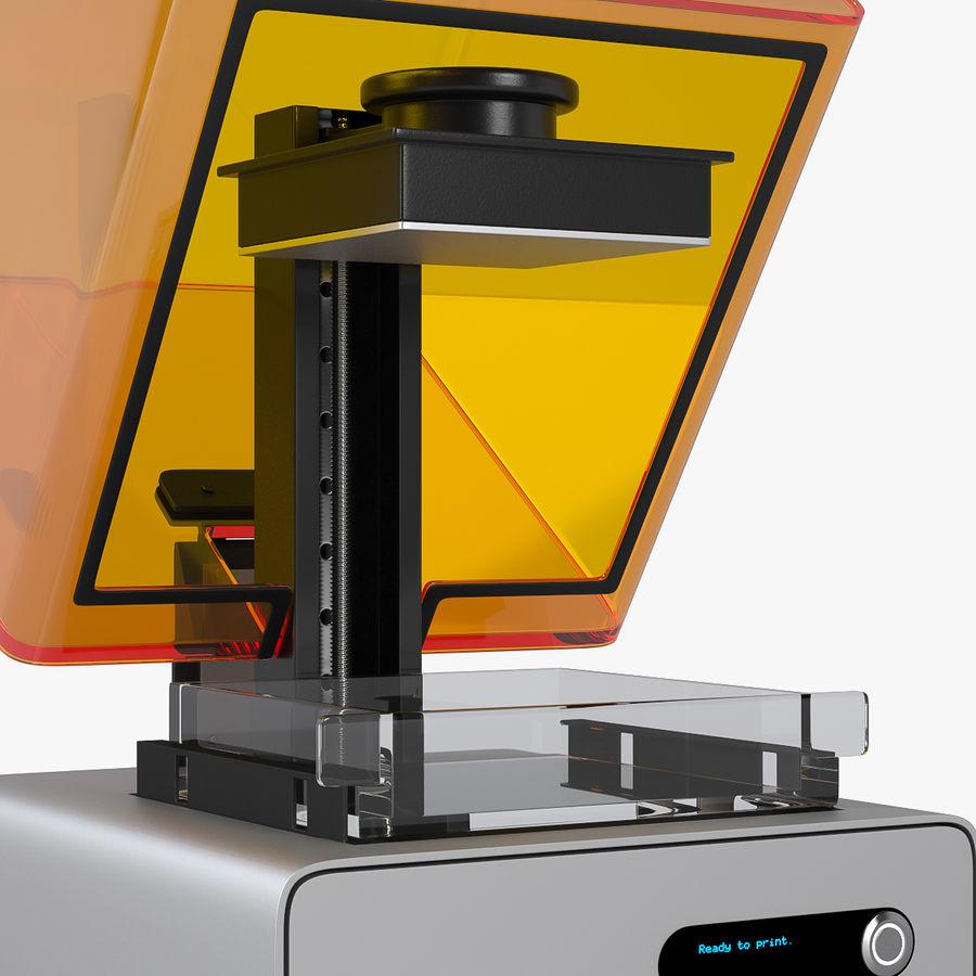 Formularz drukarki 3D 1 royalty-free 3d model - Preview no. 4