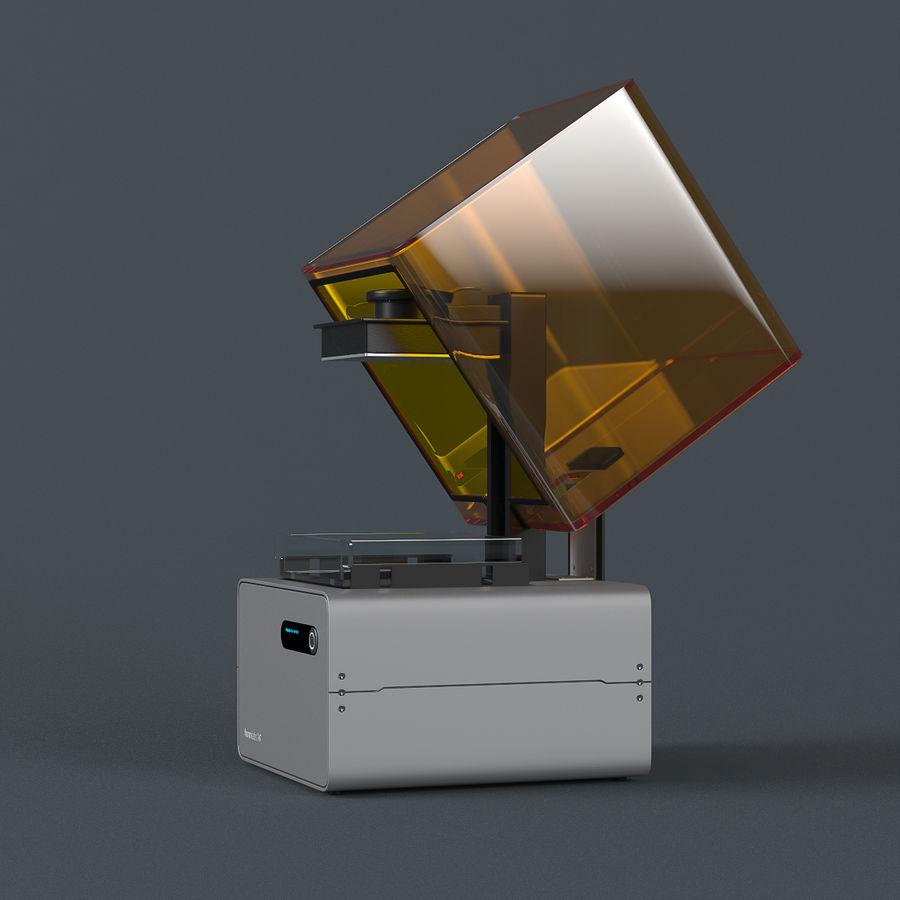 Formularz drukarki 3D 1 royalty-free 3d model - Preview no. 2