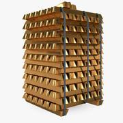 Gold Blocks 3d model
