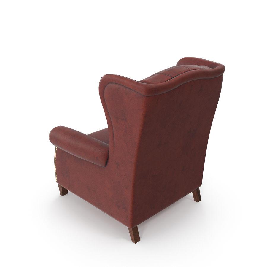 肘掛け椅子 royalty-free 3d model - Preview no. 4