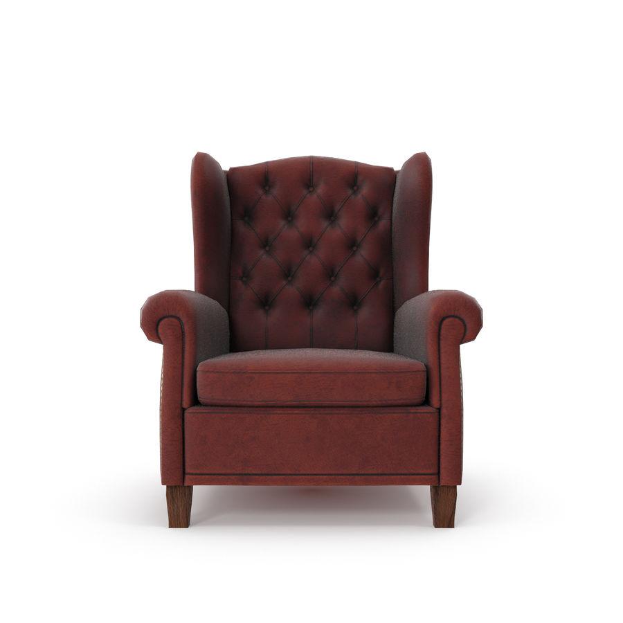 肘掛け椅子 royalty-free 3d model - Preview no. 6
